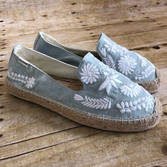 fdd7cd6a391 Soludos Ibiza Embroidered Espadrille Loafer. M 5c5b38299539f7c7d2fe25d9